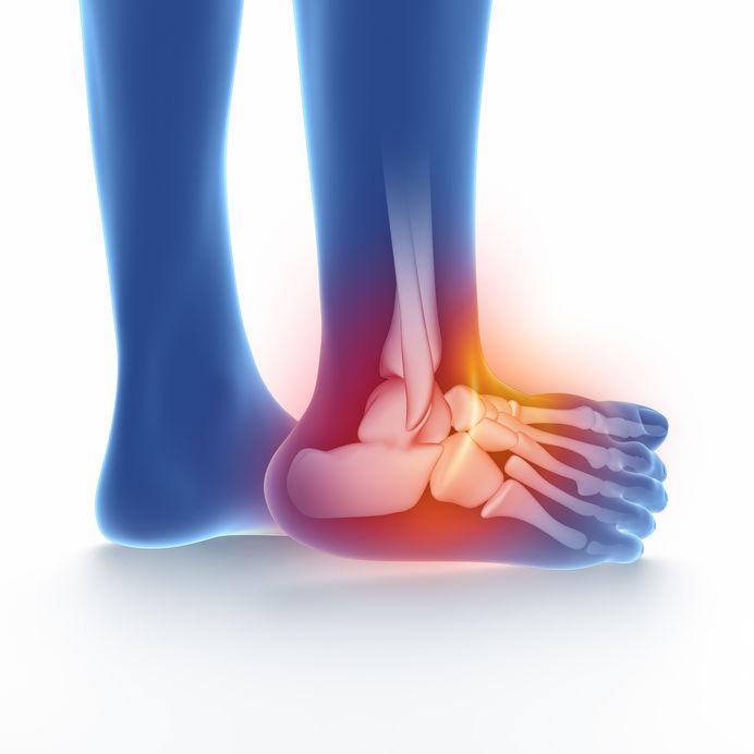 Zabiegi artroskopowe (ATS) stawu skokowego